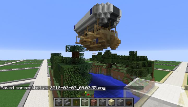 Flying ship made by Igotanameforya