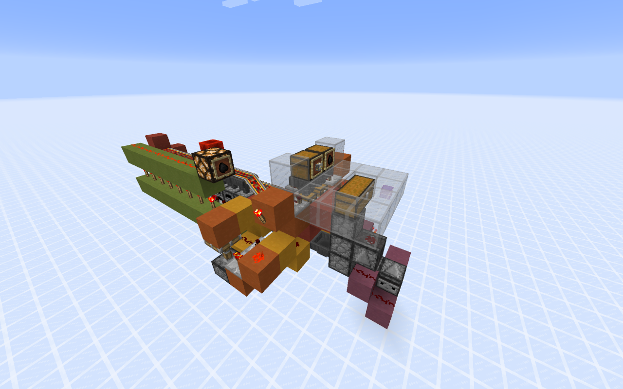 Madison : Minecraft automatic furnace system