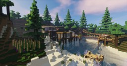 Amazing Hybrid Mountain Mansion V.2 Exterior Update Minecraft Map & Project
