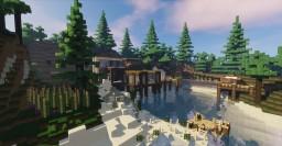Amazing Hybrid Mountain Mansion V.2 Exterior Update Minecraft