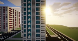 Modern Apartment Building Minecraft Map & Project