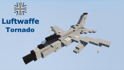 Panavia 200 Tornado IDS Luftwaffe 1,5:1 Minecraft Map & Project
