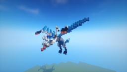 "LEGO Ninjago elemental ice dragon ""Snowball"" Minecraft Map & Project"