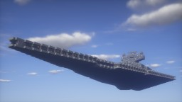 Imperial Star Destroyer | 1/10th Scale Minecraft Map & Project