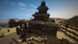Wild Western Town Hall Minecraft Map & Project