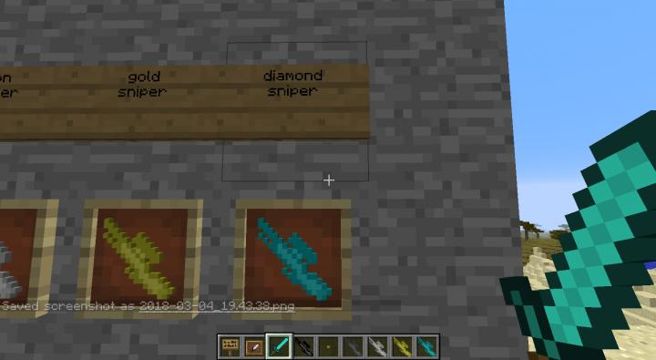 diamond sniper