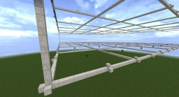 Floating Blank Grid for Schems Minecraft Map & Project