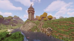 Mittelalterlicher Wachturm / Medieval Watchtower [Conquest Reforged] Minecraft