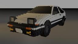 Trueno Sprinter AE86 Minecraft