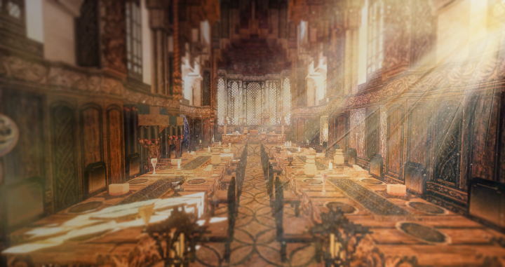 The feasting hall