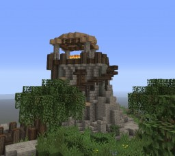 Seyda Neen Lighthouse, Morrowind Minecraft Map & Project