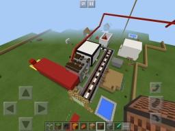 Mine-city Minecraft Map & Project