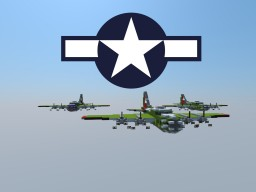 B-17 Flying Fortress Minecraft