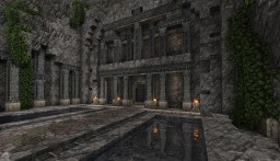 Entrance to a Dwarven village Minecraft