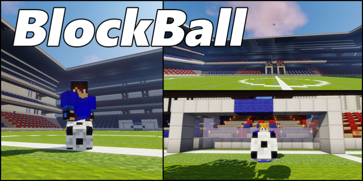 Popular Mod : BlockBall [Minigame|BungeeCord|Soccer/Football|1.8/1.9/1.10/1.11/1.12/1.13]