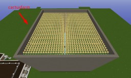 CactusFarm Minecraft Map & Project