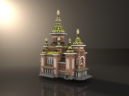 The Romanian Metropolitan Cathedral of Timișoara / Catedrala Mitropolitană Timișoara Minecraft
