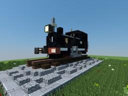 The Tiny C.P. E1 Steam Locomotive Minecraft Map & Project