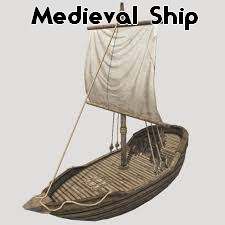 Medieval boat Minecraft Map & Project