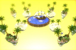 BEDWARS MAP - TropicLand Minecraft