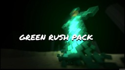 Green rush pack / based on slytherin color palette / By 16228 Minecraft Texture Pack
