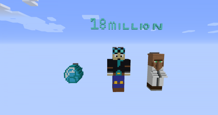 DanTDM 18 Million Subscribers Burning Map Special! Minecraft