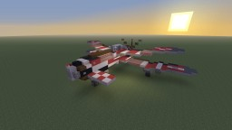 Hughes P21-J MK.III Devastator Fighter-Bomber from Crimson Skies Minecraft Map & Project
