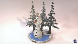 Olaf from Frozen (Organic) Minecraft Map & Project