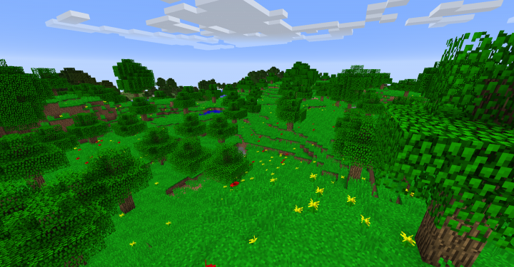 Paradise Fields Biome