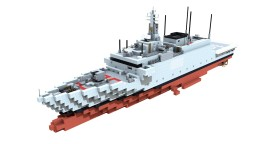 Comandanti-class Patrol Vessel | Italian Navy Minecraft Map & Project