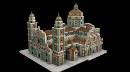 Baroque Cathedral - Cattedrale Barocca Minecraft Map & Project