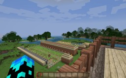 Easy Farming Minecraft Map & Project