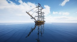 HMS Surprise (Master and Commander) Minecraft Map & Project