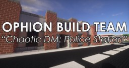 Chaotic Deathmatch: Police Station Minecraft Map & Project