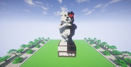 Monokuma Statue Minecraft Map & Project