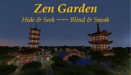 Zen Garden: Hide & Seek and Blind & Sneak Minecraft Map & Project