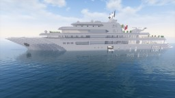 Super-Yacht (M/Y Dubai) Minecraft Map & Project