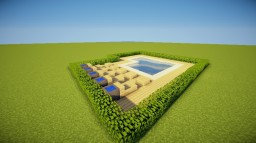 Small pool Minecraft Map & Project