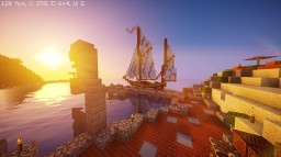 A port in a vanilla world Minecraft Map & Project