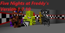 Five Nights at Freddy's Mod for version 1.7.10 Minecraft Mod