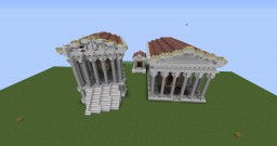Temple of Cybele Palatina-collabrative Minecraft Map & Project