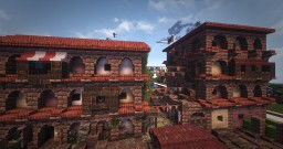 Roman Insulae | Darwin Reforged Plot | #WeareConquest Minecraft Map & Project
