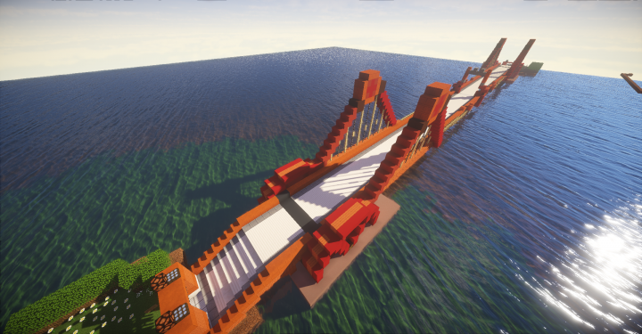 Driftveil Drawbridge also known as the Charizard Bridge Also, I can has shaders now!
