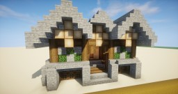 Fancy One Room House Minecraft Map & Project
