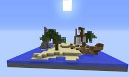Sand Island Small Server hub Minecraft Map & Project