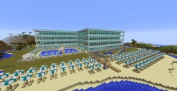 Seaside Hotel Minecraft Map & Project