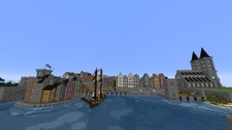 A 16-17th Century Town (WIP) Minecraft Map & Project