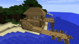 The beach house Minecraft Map & Project