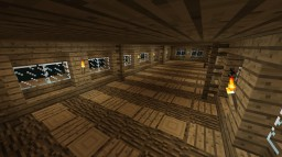 Simple Wooden House Minecraft Map & Project