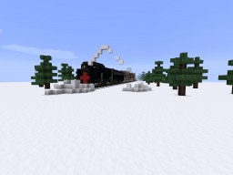SPMW Southern pacific diesel rotary snow plow. Minecraft